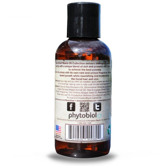 Back Beardilizer Beard Oil