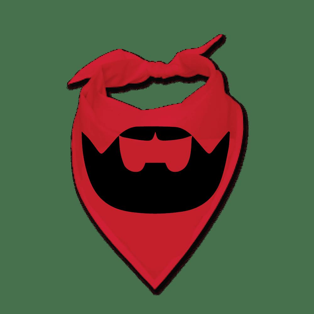 Buy a Red Beardilizer Bandana   Beardilizer