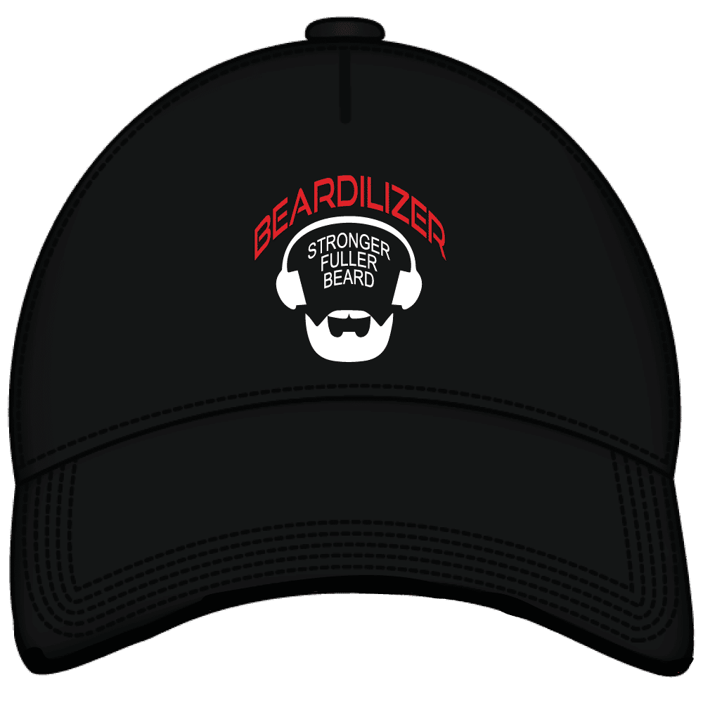 Beardilizer embroidered black cap