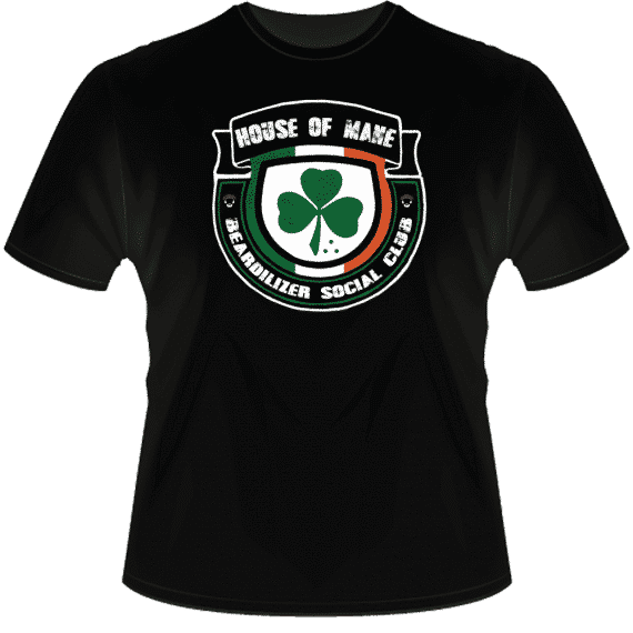 House Of Mane black T-shirt