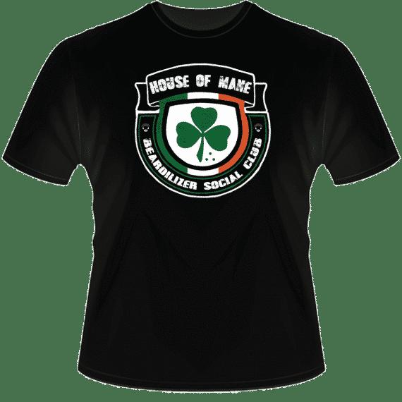 House Of Mane black T-shirt
