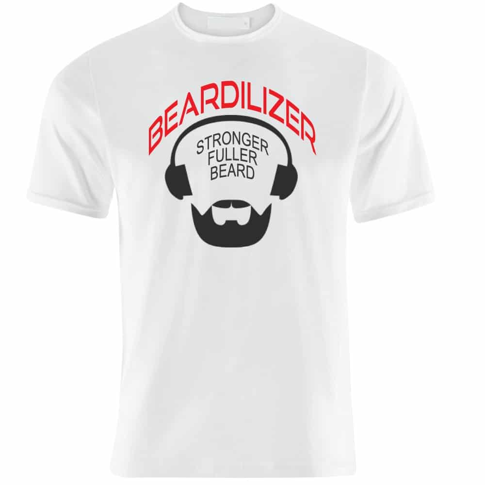 Beardilizer logo T-shirt