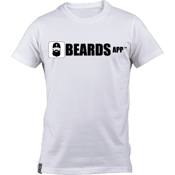 White Beards App Men's T-shirt