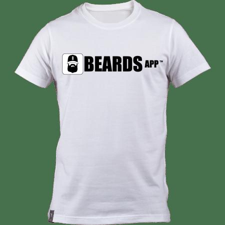 White Beards App Men's T-shirt