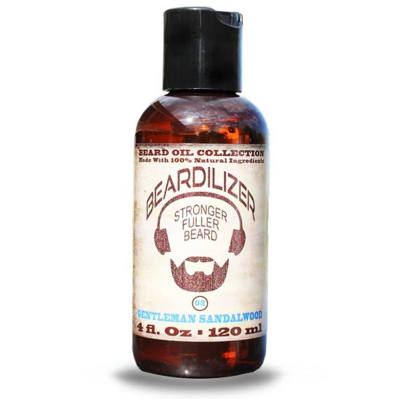gentleman sandalwood beard oil