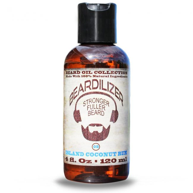 Island Coconut Rum beard oil