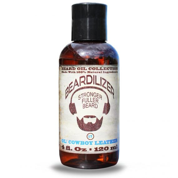 Ol' Cowboy Leather beard oil