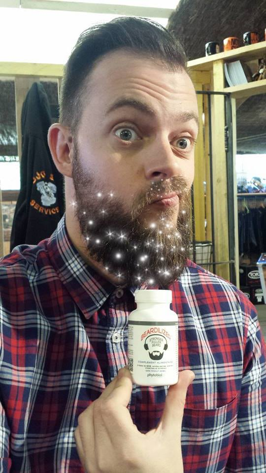 Beard hygiene for a sparkling face.