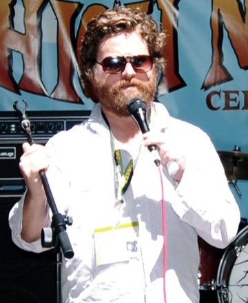 Zach Galifianakis' celebrity beard