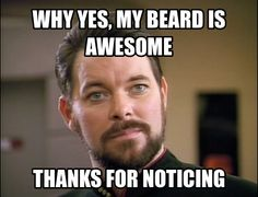 Beards in space