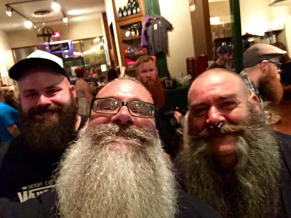 Beardilizer dream team at whiskermania 3