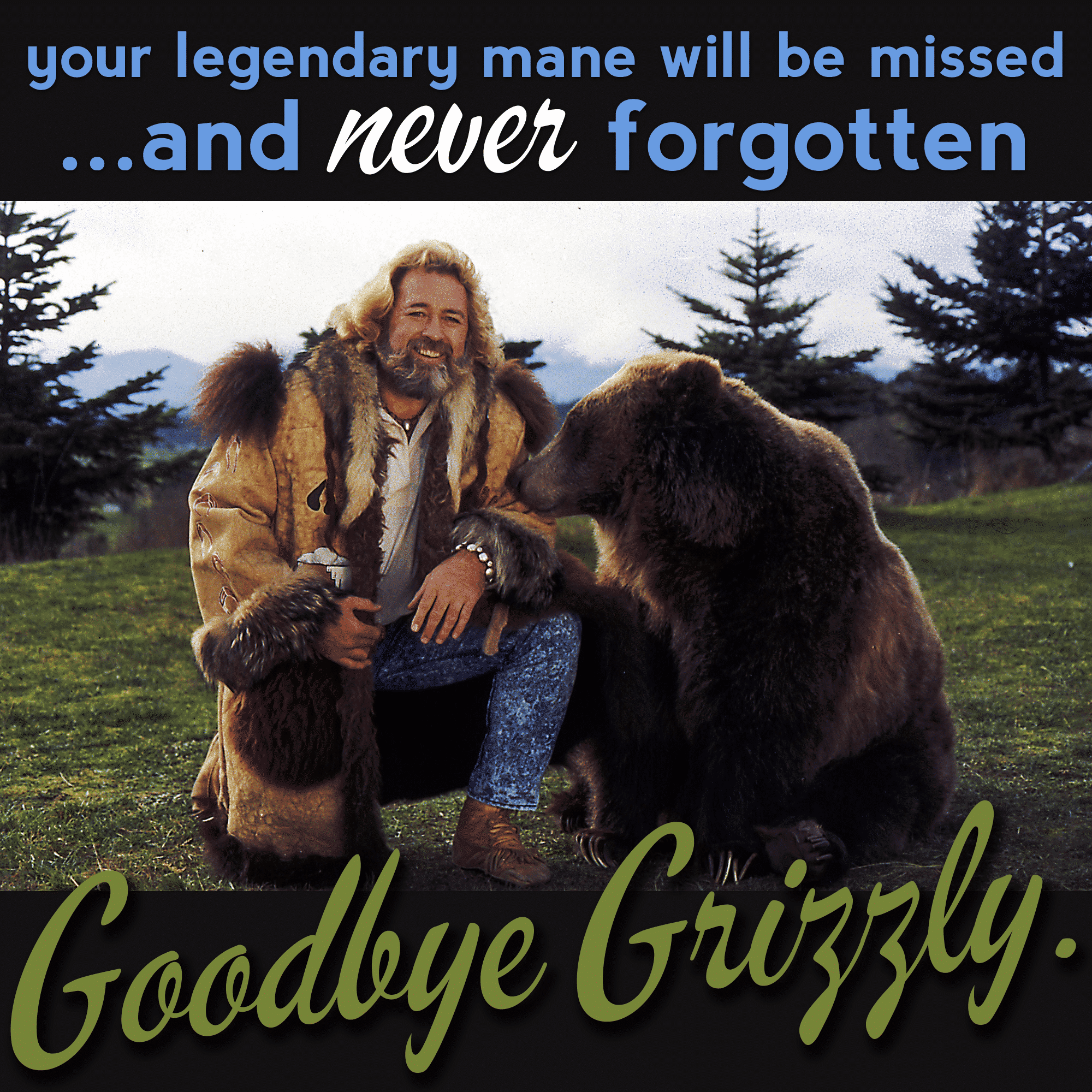 Grizzly Adams - beard legend