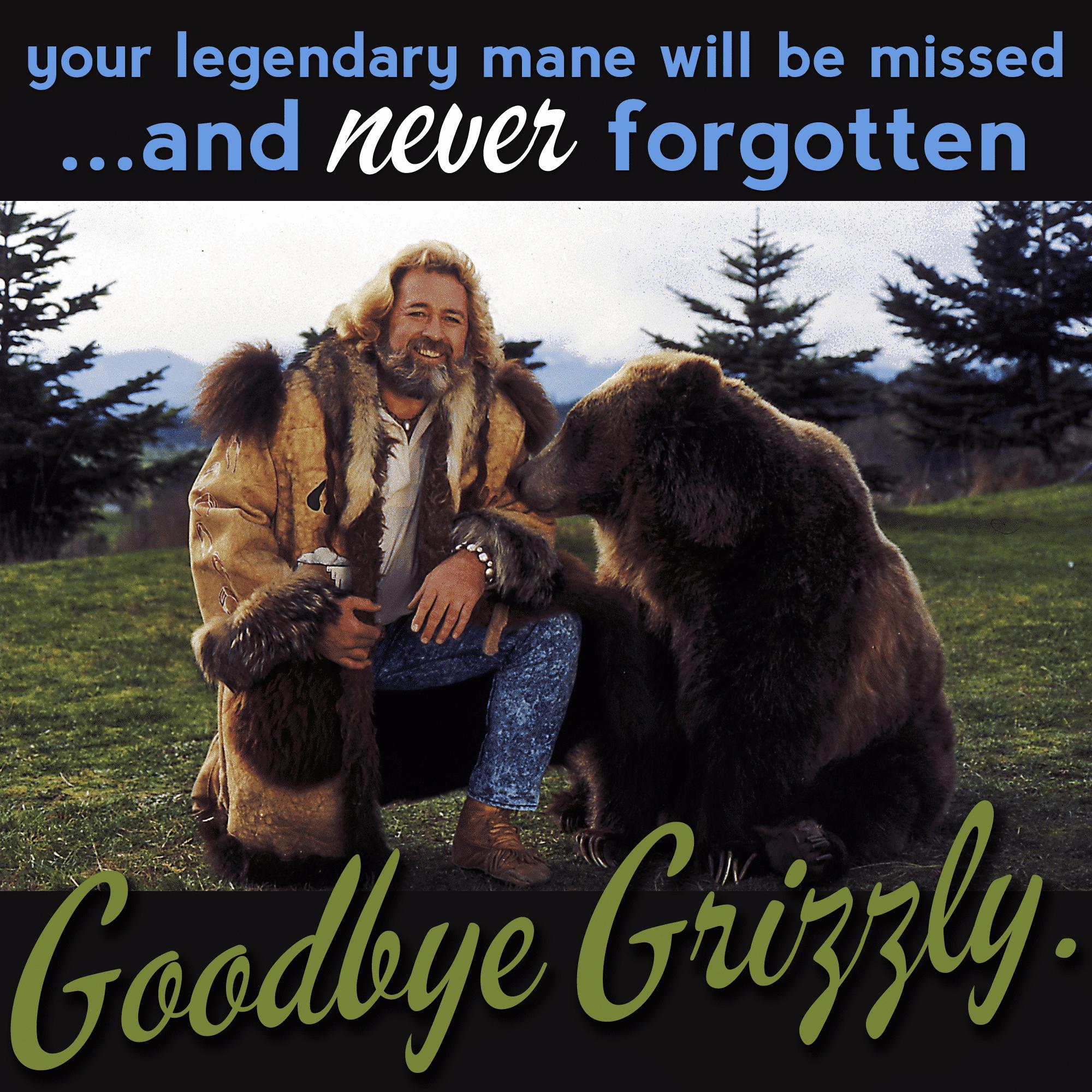Grizzly Adams - beard legend