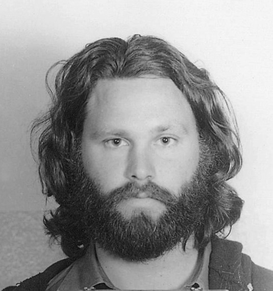 jim morrison - 70s beards