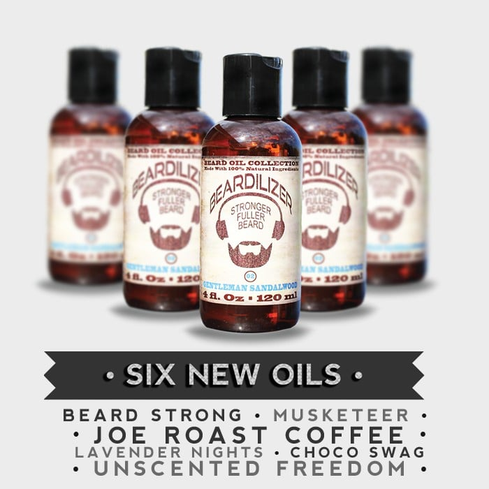six new beard oils