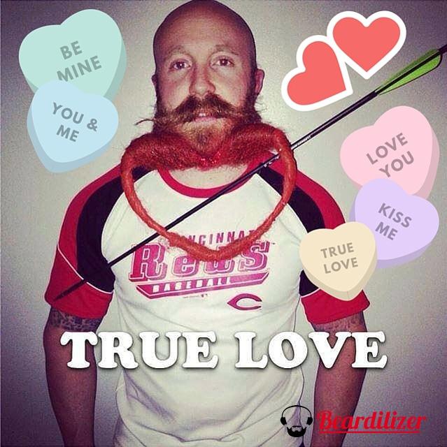 Garey Faulkner beard valentine