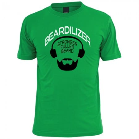 Beardilizer-T-Shirt-Logo-Green