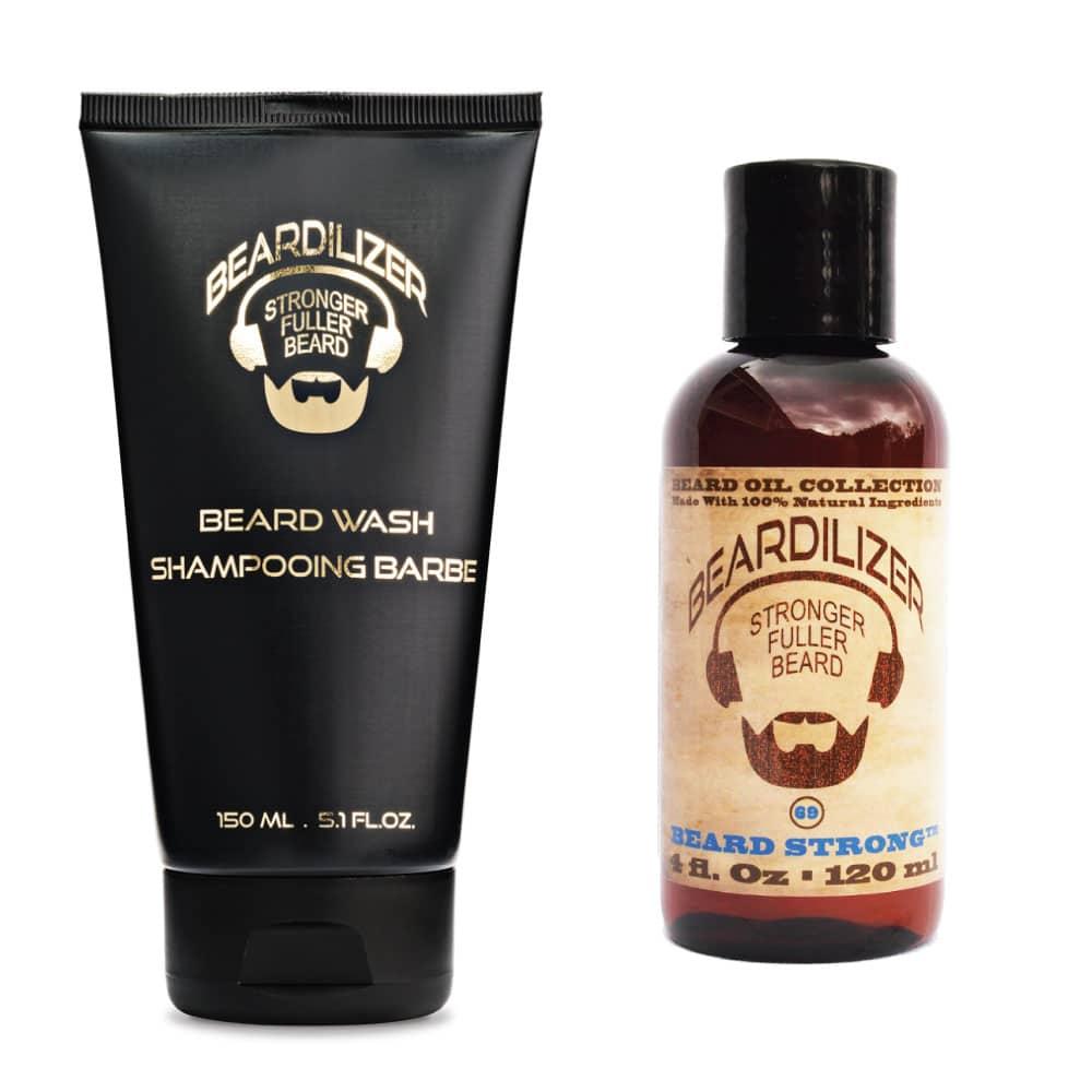 Beardilizer Beardo Pack - Beard Wash + Beard Oil | Beardilizer