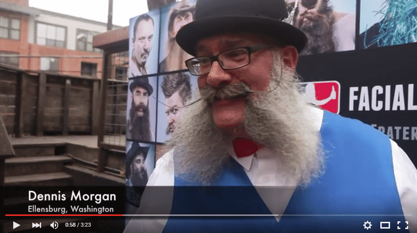 Dennis Morgan Austin Beard Competition