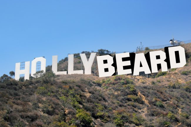 Bad beards of Hollywood