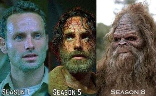 zombie apocalypse beard