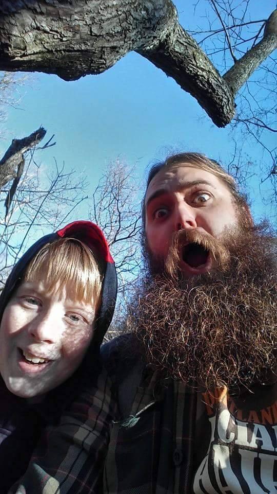 Joe and son