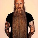 natural full beard